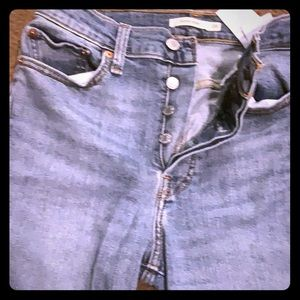 Levis wedgie skinny high rise